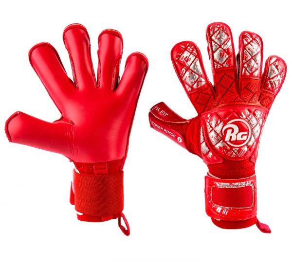futbolo pirstines rosso